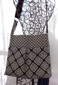 The City Bag - Pleated Shoulder or Crossbody Bag  by ClaudiaBagDesigns, $35.00 #bag #purse #handmade