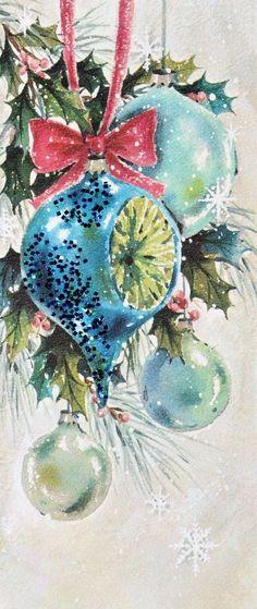 Vintage Christmas Card...