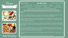 September recipe: Garden pizza - David Domoney Garden Pizza, Good Food, Yummy Food, Stuffed Mushrooms, Stuffed Peppers, Dry Yeast, Tomato Sauce, Recipes, Stuff Mushrooms