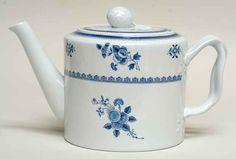Spode Earthenware Gloucester Blue Teapot 962604 | eBay