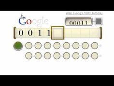Alan Turing: decoding Google Doodle that marks 100th birthday of coding genius