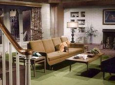 surprising 1960s sitcom living room | 25 Best TV Homes images | Classic tv, Home tv, Mary tyler ...