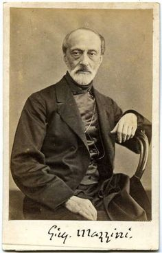 Giuseppe Mazzini called for a centralized democratic republic with universal male suffrage. Vintage Photographs, Vintage Photos, United States Of Europe, Giuseppe Garibaldi, Hot Desserts, Italy Images, European History, My People, Famous Faces
