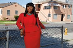 http://media.vogue.com/files/Her name is Aja (because her mother liked the Steely Dan song), but you can call her Mayor Brown. Compton, the small California city that gangsta rap put on the map—the birthplace of Kendrick Lamar, Dr. Dre, and the infamous Suge Knight; the early train