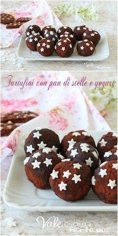 TARTUFINI CON PAN DI STELLE E YOGURT #ricettadolce #pandistelle