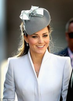 The Duchess of Cambridge attends Easter Sunday Service at St. Andrew's Cathedral in Sydney, Australia, April 20th, 2014