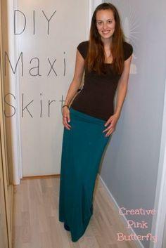 Brilliantly explained Maxi Skirt Tutorial