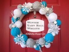 Shelly's Creations: Winter Wreath
