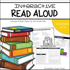 One page read aloud lessons for 64 of your FAVORITE picture books. This resource is a must have in a primary classroom!