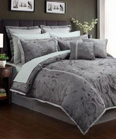 Look at this #zulilyfind! Veronique Comforter Set by Beatrice Home #zulilyfinds