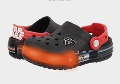 0d687b35e867c Crocs Kids CrocsLights Star Wars Vader (Toddler Little Kid) Black Flame http