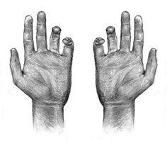 Image via We Heart It [animated] #bones #drawing #grunge #hands #hipster #skeleton #sketch #tumblr