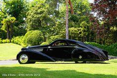 Rolls Royce Phantom I Jonckheere Aerodynamic Coupe Round Door