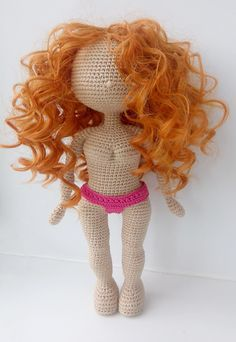 Handmade Dolls Patterns, Diy Crochet Patterns, Diy Crochet And Knitting, Crochet Doll Pattern, Amigurumi Patterns, Doll Patterns, Doll Tutorial, Photo Tutorial, Pretty Dolls