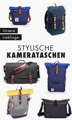 Es gibt sie: die Fototaschen, die nicht total langweilig aussehen. Wir verraten dir unsere liebsten Fototaschen und wo du sie findest.