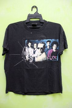 Vintage VTG 90s The Cure T Shirt 1992 WISH Tour by vintagestore13