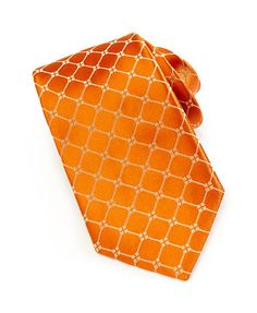 Ike Behar Woven Diamond Pattern Tie, Orange - was $95.0, now $45.0 (53% Off). Picked by mickster @ Last Call by Neiman Marcus
