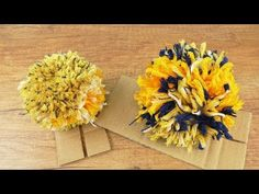 Bommel für Mützen selber machen | Einfache Anleitung | Pompom DIY aus Wolle | Bommelmützen - YouTube