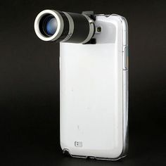 8X Zoom Telescope Camera Lens Case Cover For Samsung Galaxy Note 2 Ii N7100