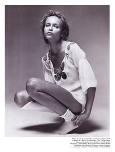 #NATASHAPOLY BY PATRICK DEMARCHELIER for #VogueParis #February2005