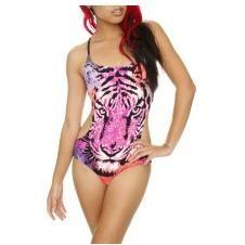 Spring Breakers costume - leopard monokini