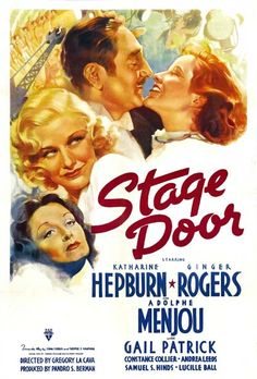 "Stage Door (1937) - Seattle boys?!  They are all lumberjacks who only talk about cords of wood and chopping down trees!""  ""I thought they all lived in trees!""  ""Only in the summer.  In the winter they live in burrows."""