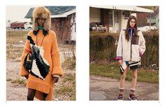 americana: dani, grace, harleth, nastya, julia, tami, vanessa and waleska by mikael jansson for interview june/july 2014 | visual optimism; fashion editorials, shows, campaigns & more!
