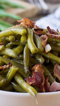 Southern-Style Green Beans | Foodboum