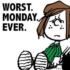 Worst. Monday. Ever.