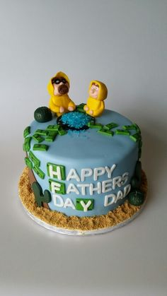 Breaking bad father's day cake