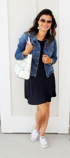 """Shop the Look from justposted on ShopStyleI should've just called this page """"Comfortable & Casual! Spring Summer Fashion, Spring Outfits, Autumn Fashion, Casual Outfits, Cute Outfits, Fashion Outfits, Womens Fashion, Casual Clothes, Jean Outfits"""