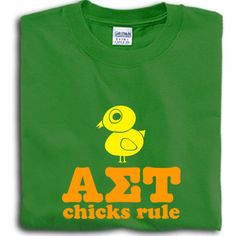 Alpha Sigma Tau Sorority Chicks Rule