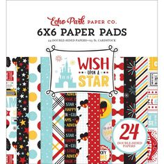 """Wish Upon A Star 6""""x 6"""" Paper Pad by Echo Park Paper"""