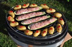 Gefüllte Zucchini auf dem Cobb Supreme Gefüllte Zucchini griechische Art vom Cobb Supreme-Cobb Supreme-CobbSupremeZucchini04