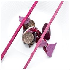 Chef's Recipes | recipe for Rouge from chef Paul Liebrandt of Corton restaurant.