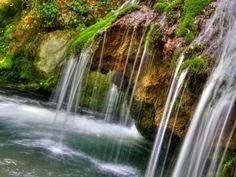 Waterfalls. Crimea. Ukraine