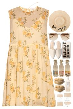 """5496"" by tiffanyelinor ❤ liked on Polyvore featuring The Great, Witchery, Arme De L'Amour, Casetify, Retrò, Williams-Sonoma and Sachajuan"