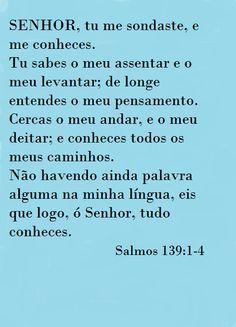 Salmos 139:1-4