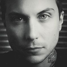 Frank being handsome