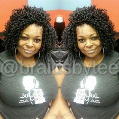 61 Ideas Crochet Braids Hairstyles Soft Dread Natural Hair For 2019 Crochet Braids Hairstyles, Dread Hairstyles, African Hairstyles, Cute Hairstyles, Braided Hairstyles, Hair Scarf Styles, Curly Hair Styles, Natural Hair Styles, Ecaille Hair
