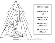 Free Foundation Paper Piecing Patterns | Free paper piecing patterns / Xmas tree