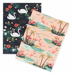 """Notebooks (Set of 2) """"Birds of a Feather"""""""