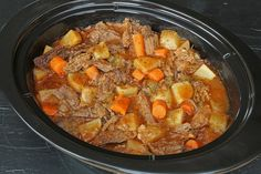 Pot Roast with no processed ingredients. Just real food that's really good!