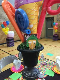 Willy Wonka & The CandyLand Factory  Birthday Party Ideas | Photo 9 of 16