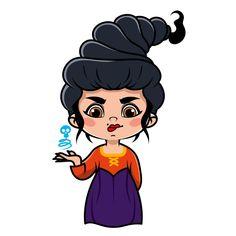 Hocus Pocus Characters, Disney Characters, Fictional Characters, Halloween Clipart, Girl Power, Digital Prints, Fairy, Cricut, Clip Art