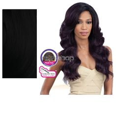 Equal (SNG) Invisible L Part Wig January  - Color 1 - Synthetic (Curling Iron Safe) Invisible L-Part Wig - Closed Invisible L-Part
