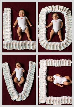 #Love #baby #Diapers #photoshoot #newborn #smiles #huggies #photoideas #photosathome #happy #collage