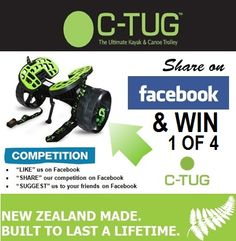 1 - 4 C-TUGs up for grabs just LIKE us on facebook, share and suggest and WIN! Facebook News, Find Us On Facebook, Facebook Likes, Facebook Competition
