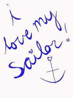 "<3 ""I love my sailor"" - MilitaryAvenue.com"