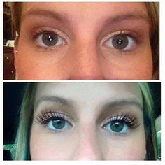 I don't care how short your natural lashes are, this mascara will help you!!  No mess, no glue, no hassle or damage of extensions or falsies!  And just $29 (lasts 2-3 months) http://beautifulbydenise.weebly.com/3d-mascara.html